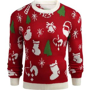PULL pull homme de Marque Pull chaud Noël tricot pull t