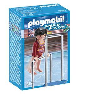 UNIVERS MINIATURE Playmobil Gymnaste Et Barres Asymétriques