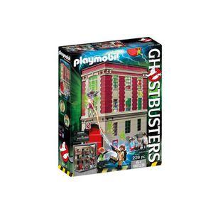 ASSEMBLAGE CONSTRUCTION PLAYMOBIL 9219 Quartier Général Ghostbusters Editi