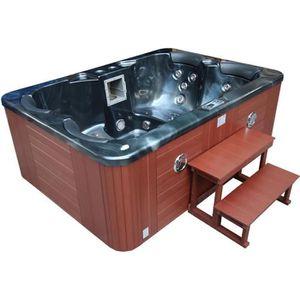 jacuzzi 4 places achat vente pas cher. Black Bedroom Furniture Sets. Home Design Ideas