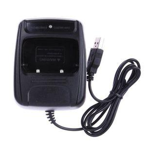 ADAPTATEUR CHARGEUR YIER Li-ion Radio Chargeur de batterie USB pour Ba