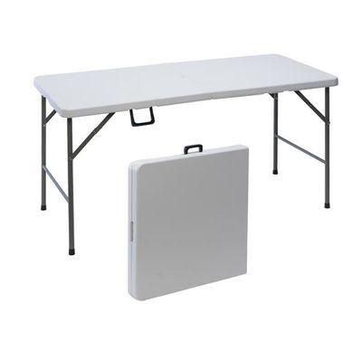 Table de jardin pliante en plastique - 152 Cm - Achat / Vente table ...