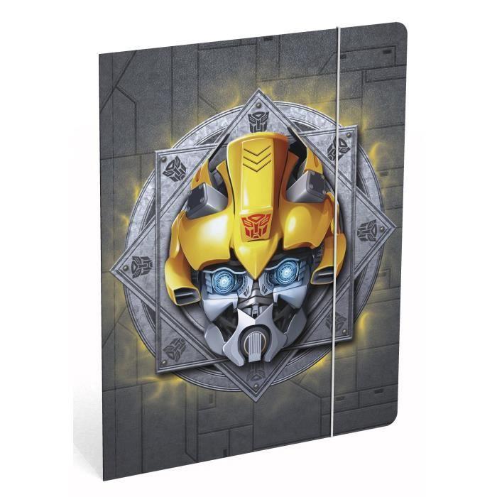 TRANSFORMERS SD Chemise à élastique A4 en carton - Portrait bumblebee