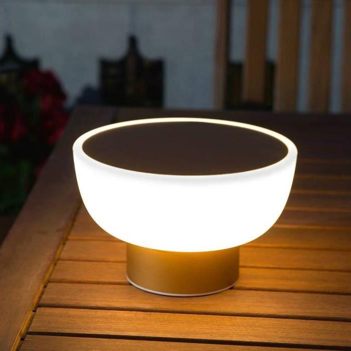 Alma Light Led Patio Lampe D'extérieur Rechargeable Ø20cm Or 9EHIWYD2
