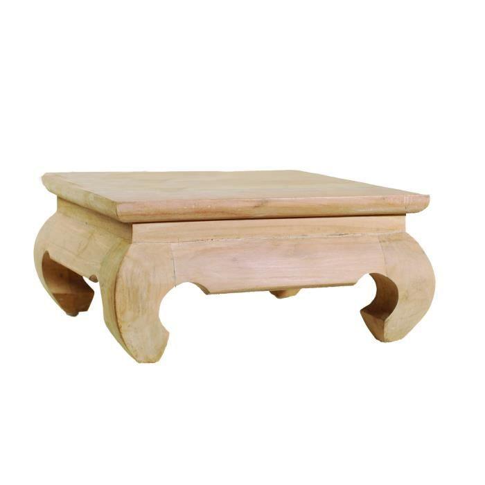 Diane Mini Table 30 En Teck X 13 Cm H Opium L Ethnique N8Ovnwm0