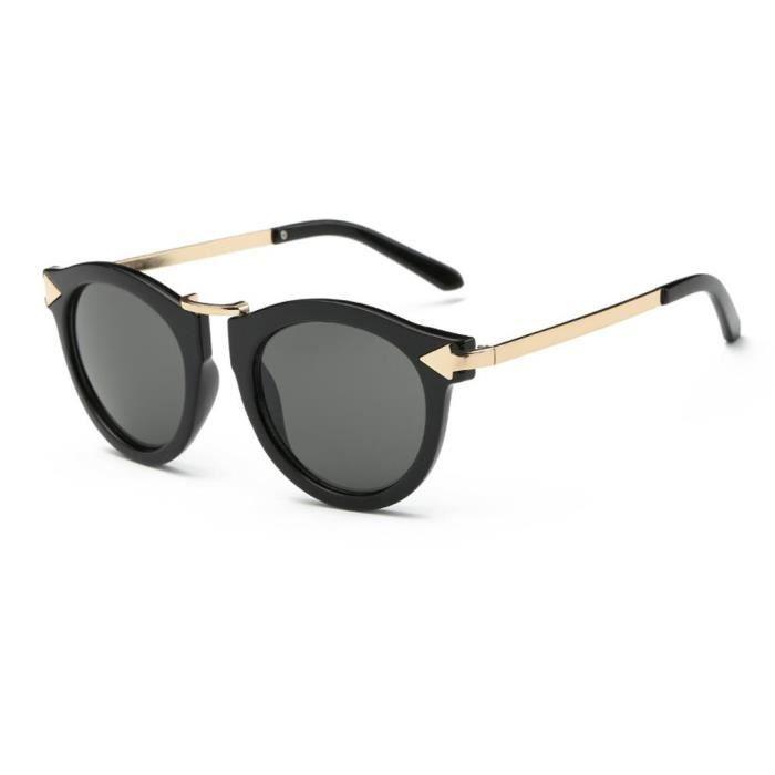 Les femmes dété des lunettes de soleil rétro concepteur cru lunettes de plein air NO.1