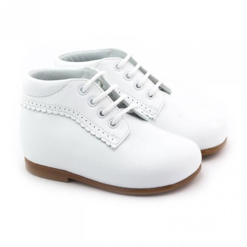 990e3cd4a0753 Boni Baby - chaussure bébé premier pas Blanc - Achat   Vente derby ...