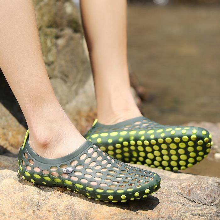 Jeunes British Style Hommes Chaussures étanches Sandales de plage