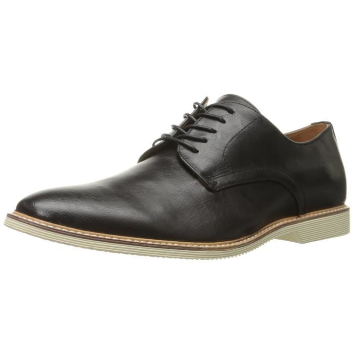Aldo Loppa synthétique noir Chaussures Derby RWK3F Taille-47
