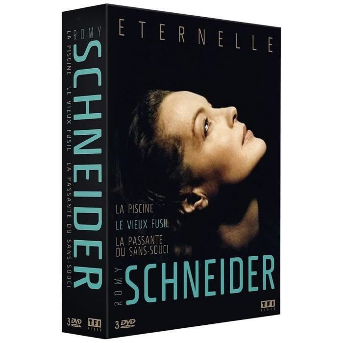 "DVD FILM Coffret 3 DVD : Romy SCHNEIDER "" Éternelle "" [ La"