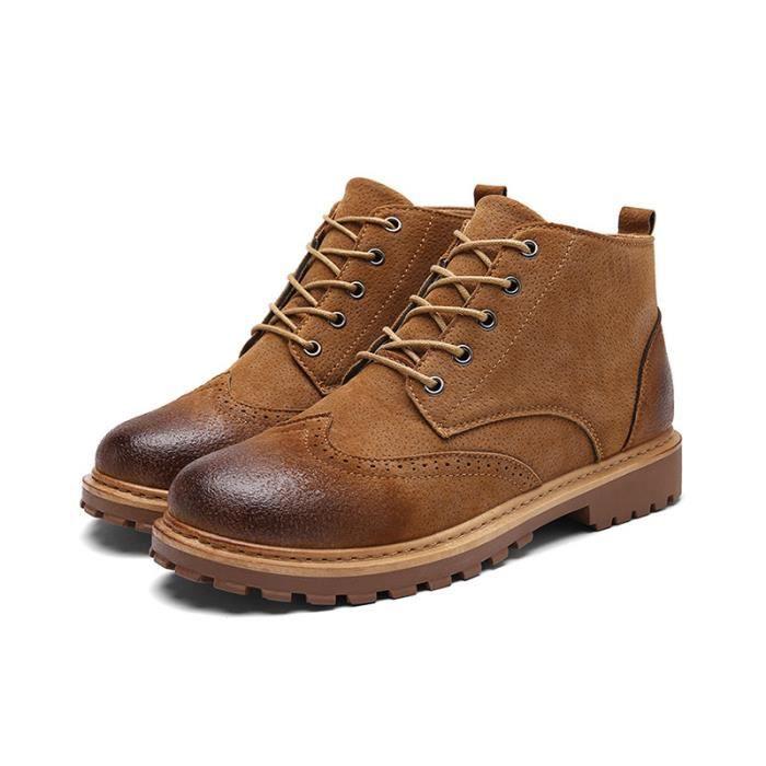 Chaussure Homme Comfortable Classique BXX Bottine XZ218Noir42 Hommes BaRq6wx