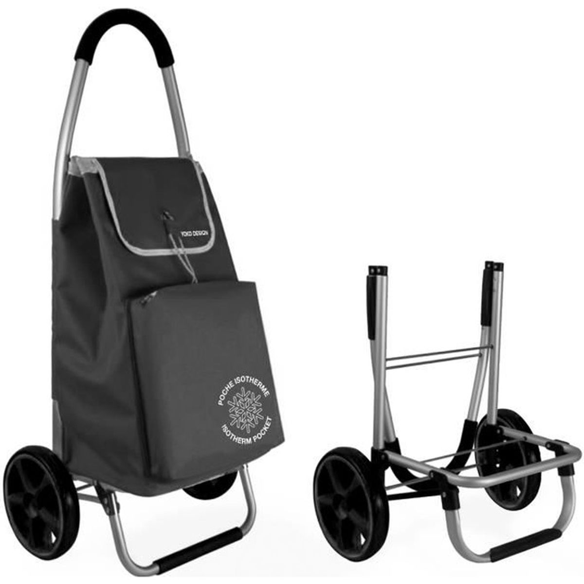 chariot de course isotherme achat vente chariot de course isotherme pas cher soldes d s. Black Bedroom Furniture Sets. Home Design Ideas