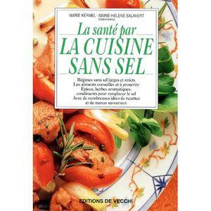 livre de cuisine regime sans sel