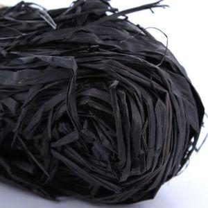 HEYDA Raphia végétal Noir 50g