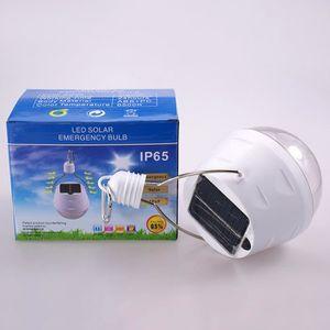 LAMPE - LANTERNE solaire led ampoule lumière de secours panneau sol