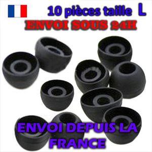 CASQUE - ÉCOUTEURS X10 EMBOUTS ECOUTEURS INTRA AURICULAIRES  L