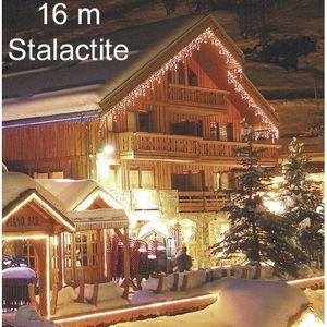 GUIRLANDE D'EXTÉRIEUR Lealight - JFL39 - Stalactite Blanc