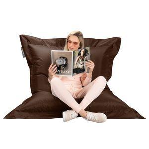pouf achat vente pouf pas cher cdiscount. Black Bedroom Furniture Sets. Home Design Ideas