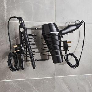 support pour seche cheveux achat vente support pour seche cheveux pas cher cdiscount. Black Bedroom Furniture Sets. Home Design Ideas