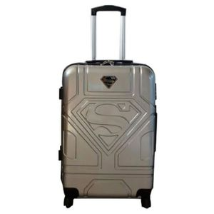 VALISE - BAGAGE SUPERMAN - Valise cabine ABS trolley 4 roues 54cm