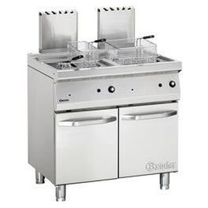 FRITEUSE ELECTRIQUE Friteuse à gaz avec 2 cuves Série 700