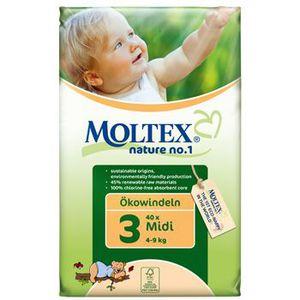 COUCHE Moltex 40 Couches jetables ecologiques Midi 4 9 kg
