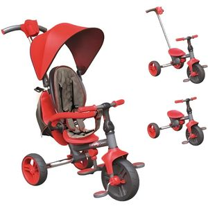 TRICYCLE STROLLY - Tricycle Evolutif Strolly Compact - Roug