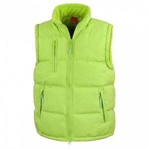 anorak sans citron manches R088X bodywarmer vert Doudoune OfAp1qvp