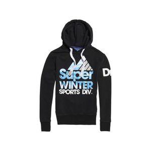 SWEAT-SHIRT DE SPORT Sweat à Capuche Superdry Winter Sports Black 977d144ce063