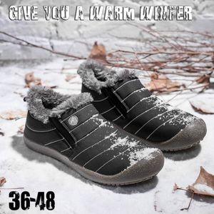 APRES SKI - SNOWBOOT Femmes et hommes d'hiver Chaussures solides Bottes