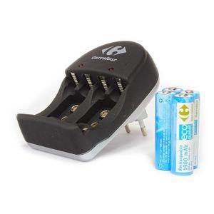CHARGEUR DE PILES Carrefour - Uniross - Chargeur batteries 1,2V AA/A