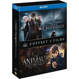 BLU-RAY FILM Coffret Blu-Ray Animaux Fantastiques : Les Animaux