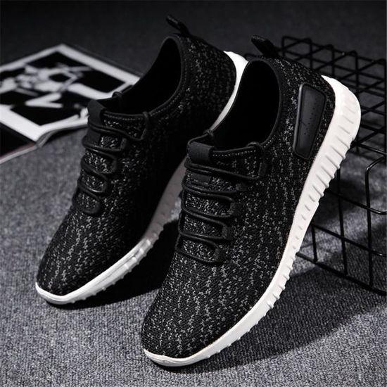 Sneaker Homme Qualité Supérieure Nouvelle Chaussure Sneakers Mode Confortable Léger Chaussure Nouvelle Plus De Couleur Doux Extravagant 39-44 Noir Noir - Achat / Vente basket b70716