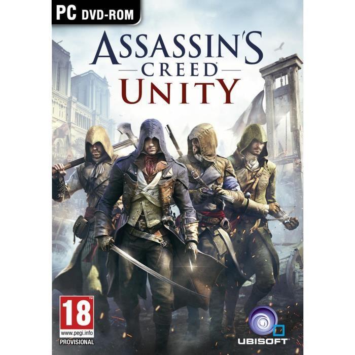 JEU PC Assassin's Creed Unity PC