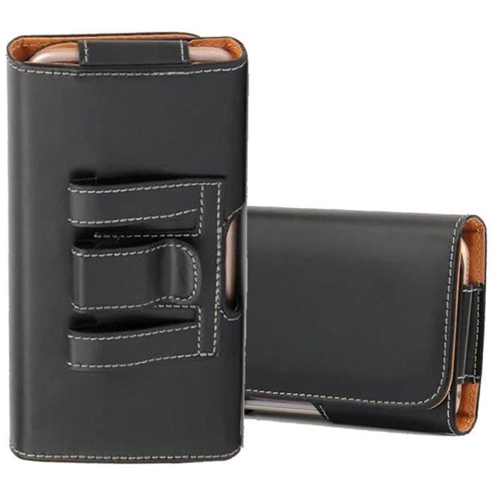 Housse Clip Ceinture Pour iPhone 7 Plus - Noir - Achat housse - étui ... 66cdb4352e8
