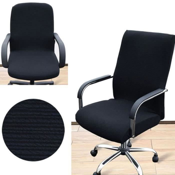 Housse Pour Vente Chaise Bureau De Pivotante NoirlAchat nXwP08Ok
