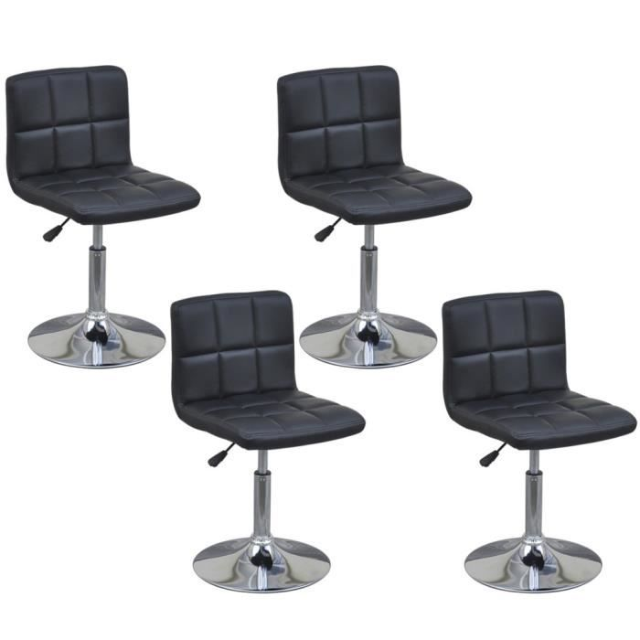 chaise haute de cuisine reglable avec dossier achat. Black Bedroom Furniture Sets. Home Design Ideas
