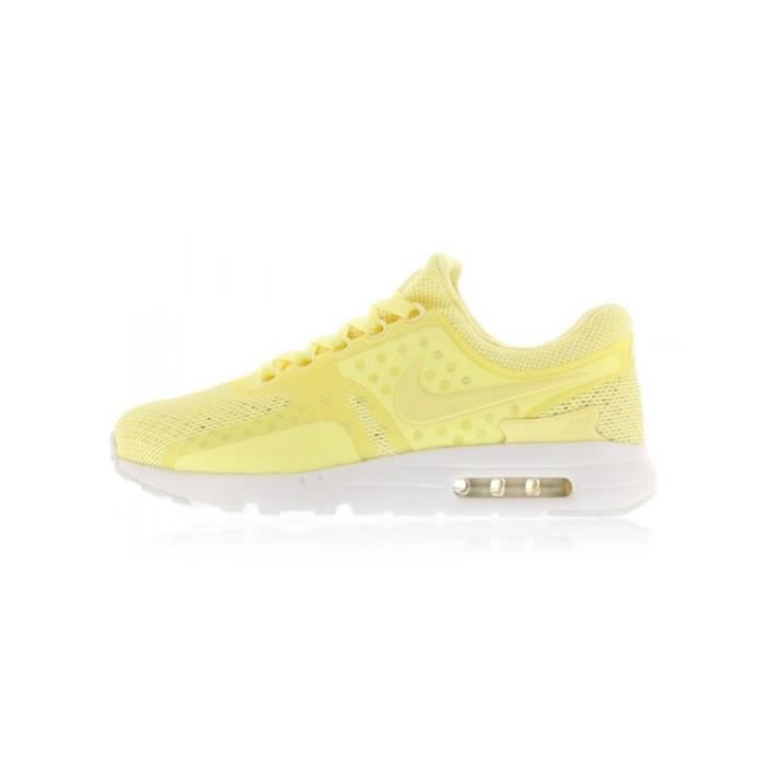 Basket NIKE AIR MAX 1 ULTRA FLYKNIT - Age - ADULTE, Couleur - JAUNE, Genre - HOMME, Taille - 44