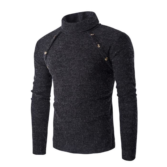 low priced 71ad7 e11a1 pull-homme-uni-col-roule-slim-fit-gris.jpg