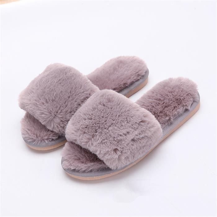 chaussons Enfant Fille hiver intérieur pantoufles chaud hiver peluche Série à domicile chaussure marque Plus De Couleur pDnfE6zR