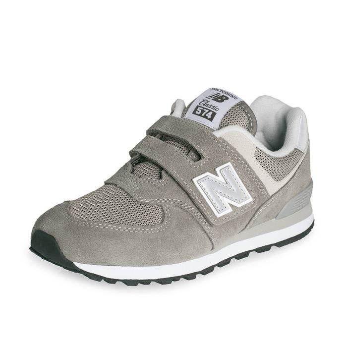 Baskets New Balance YV574 YV574GG Gris Gris Achat