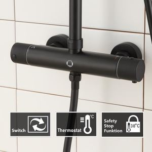 colonne de douche pour baignoire avec robinet achat vente colonne de douche pour baignoire. Black Bedroom Furniture Sets. Home Design Ideas