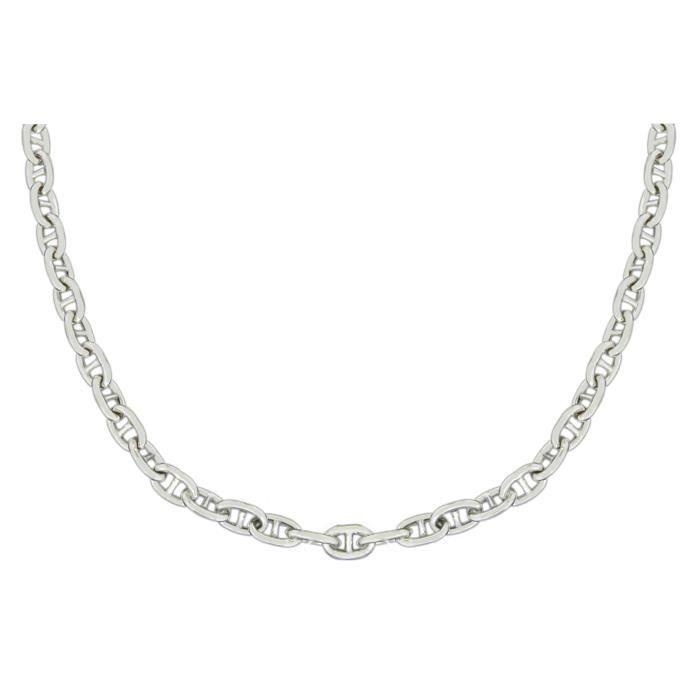 Fine Necklace Bracelet Anklet Argent 925-1000 51 Centimeters BLR40