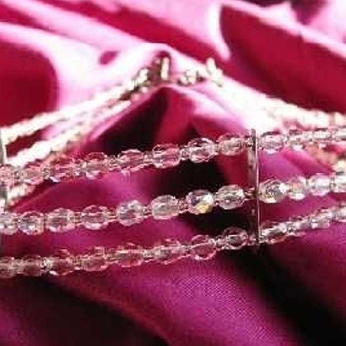 Ras de cou Créateur Kianda Glam Rose Pâle