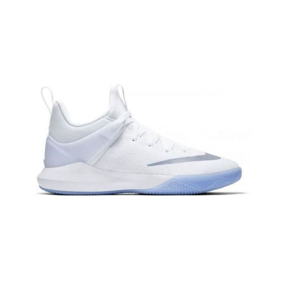 Chaussure de Basketball Nike Zoom shift blanche pour homme ...