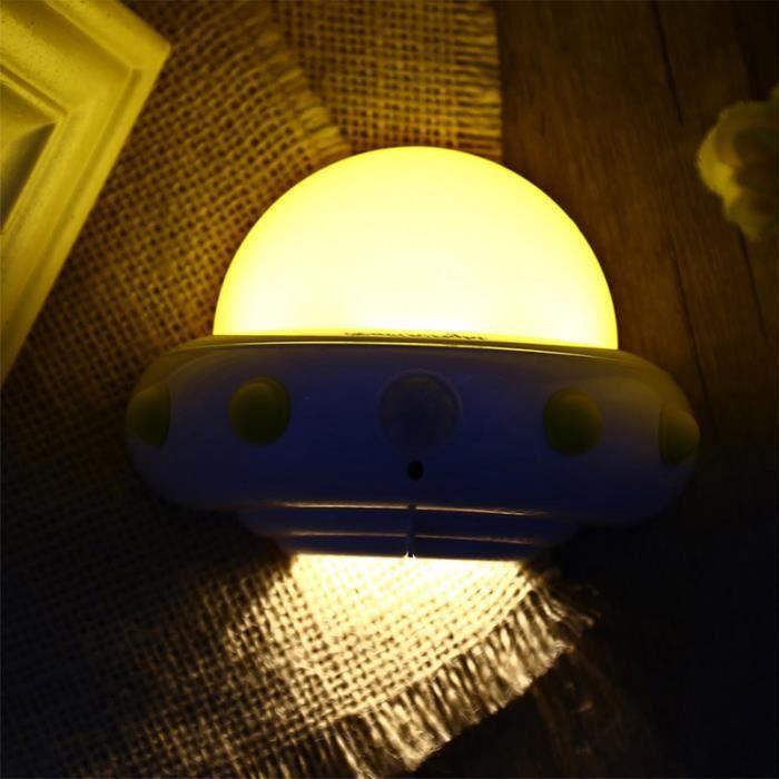 Youoklight Volante Usb Lampe Mouvement Chargé led Murale En Veilleuse Pour Forme 5 Capteur Soucoupe De waqa1prxY