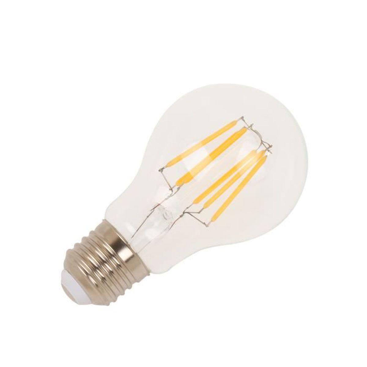 Ampoule led filament affordable ampoule led ampoule led filament e w equivalent w bla with - Ampoule a filament ...