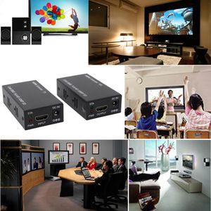 Récepteur audio HDMI EXTENDER RJ45 Câble LAN Jusqu'à 200ft Kit 108