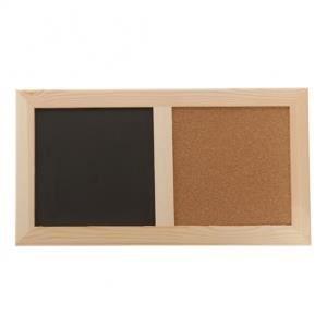 tableau pele mele ardoise et liege achat vente p le m le photo ardoise bois. Black Bedroom Furniture Sets. Home Design Ideas