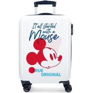 VALISE - BAGAGE Valise cabine 4 roues en ABS Mickey All Started de